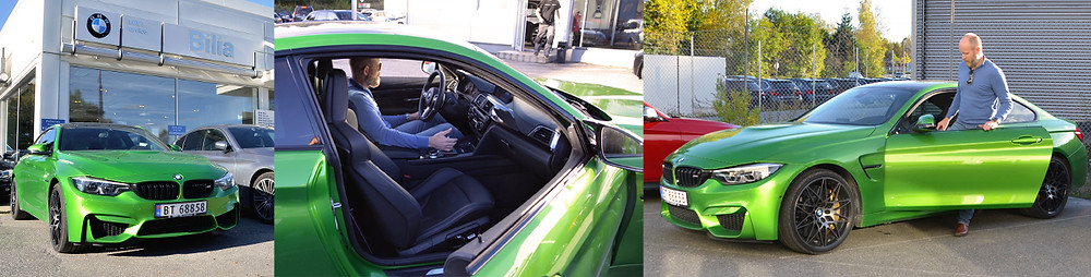 Bilia Follo BMW M4. Trafikkskole Follo Trafikkteam