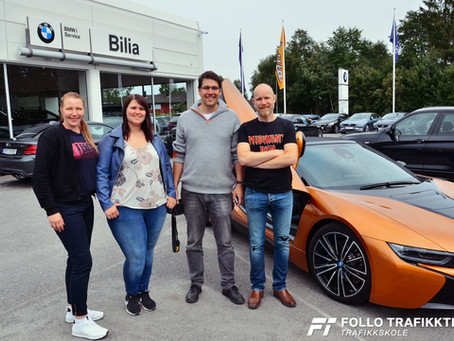 BMW Road Show.