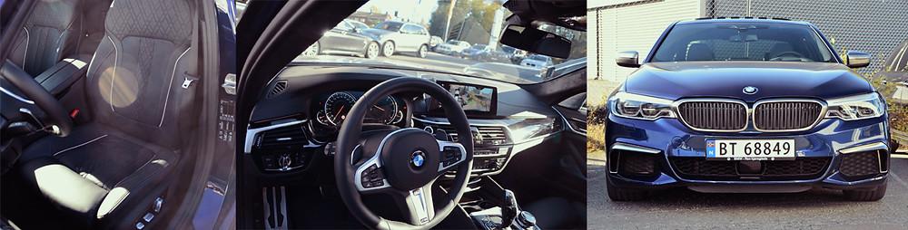 Bilia Follo BMW M550i. Trafikkskole Follo Trafikkteam