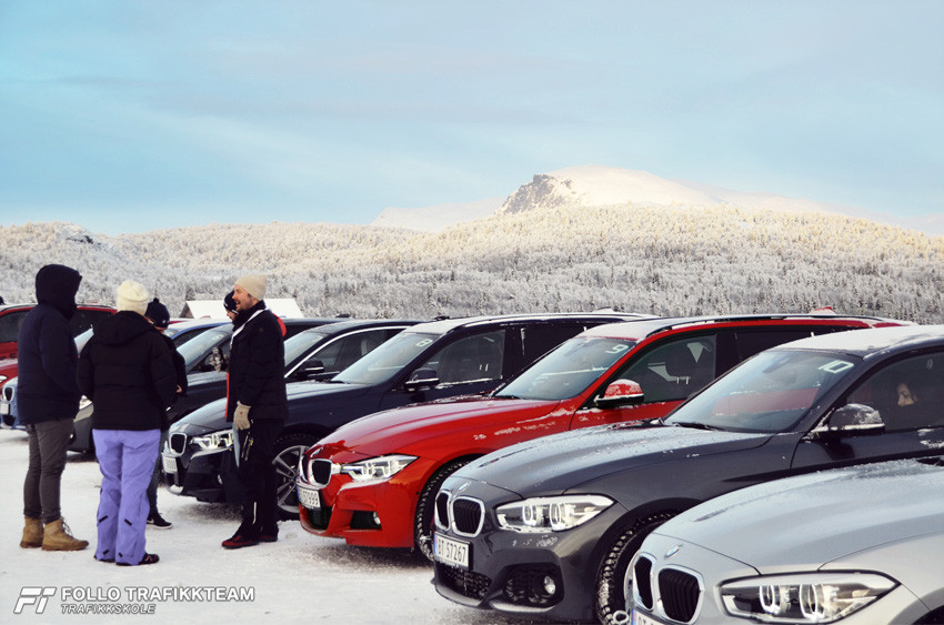 BMW Winter Experience 2017 på Gol