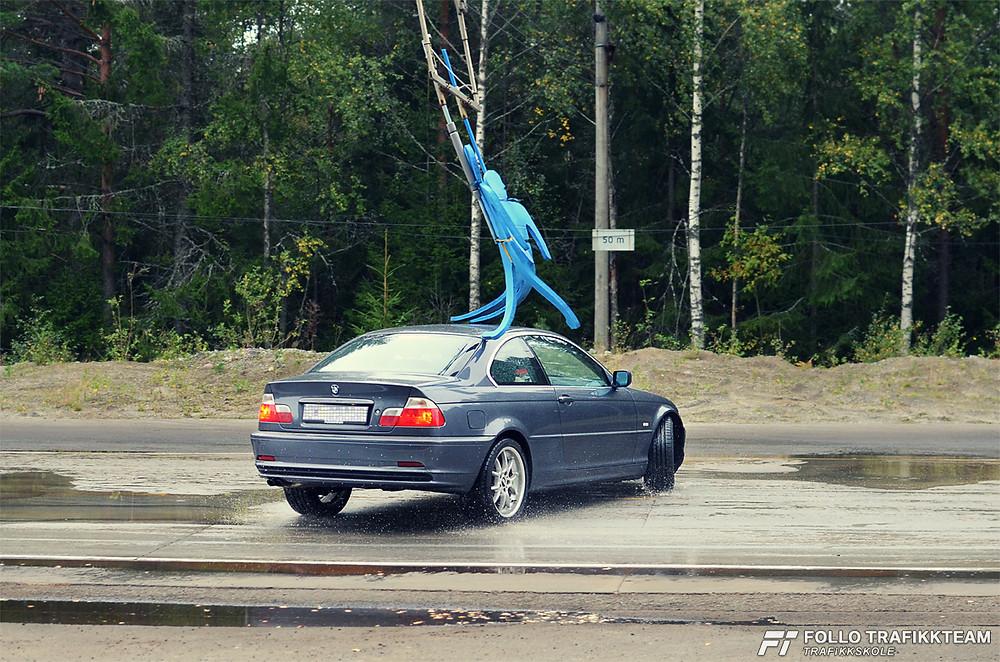 NAF Øvingsbane på Nesodden Åpen dag 2016 Test din reaksjon og bilens egenskaper!