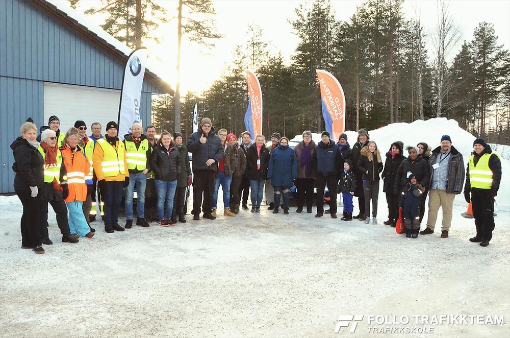 Trafikksikkerhetsdag med trafikkskole Follo Trafikkteam og NAF avd Follo på Nesodden