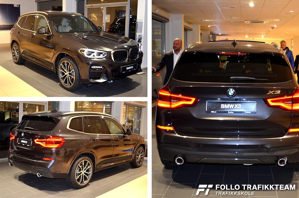 Ny BMW X3 på Bilia Skøyen desember 2017