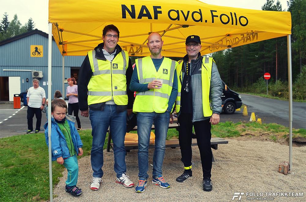 Trafikkskole Ski og Oppegård Follo Trafikkteam på NAF Øvingsbane på Nesodden Åpen dag 2016