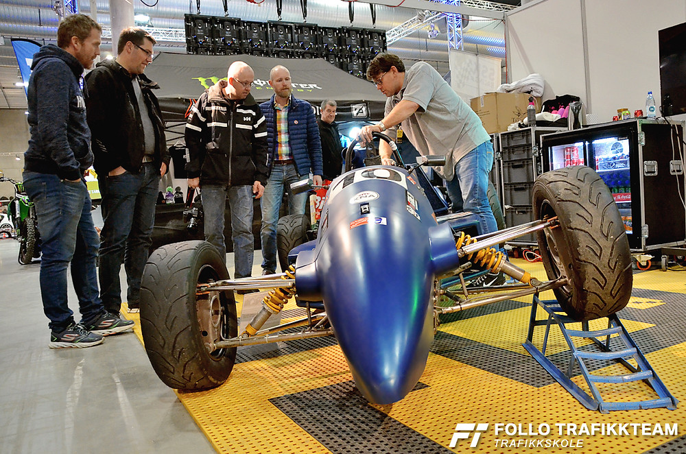 Trafikkskole Follo Trafikkteam på Oslo Motorshow 2017