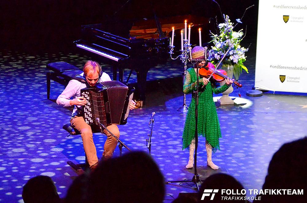 Frida Haltlie og Frode Haltlie, Oppegård kulturskule. Ordførerens hedring for 2018, Kolben