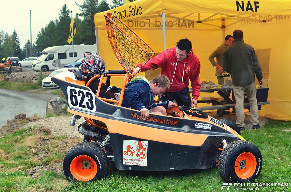 NAF Øvingsbane på Nesodden Åpen dag 2016. Dahl Motorsport