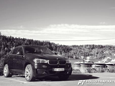 Kjøreopplevelser BMW X6 og BMW 540i Touring X-Drive. Del 3.