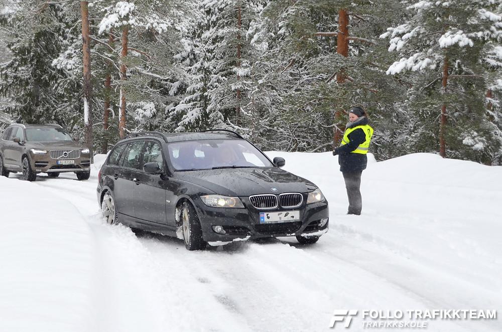 Trafikksikkerhetsdag 2019 med trafikkskole Follo Trafikkteam på NAF Øvingsbane Nesodden