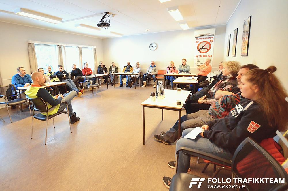 Trafikksikkerhetsdag med trafikkskole Follo Trafikkteam og NAF avd Follo på Nesodden. Innledning
