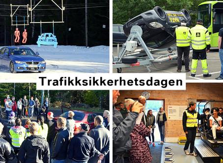 Trafikksikkerhetsdagen – fordi sikkerhet i trafikken er ditt ansvar!