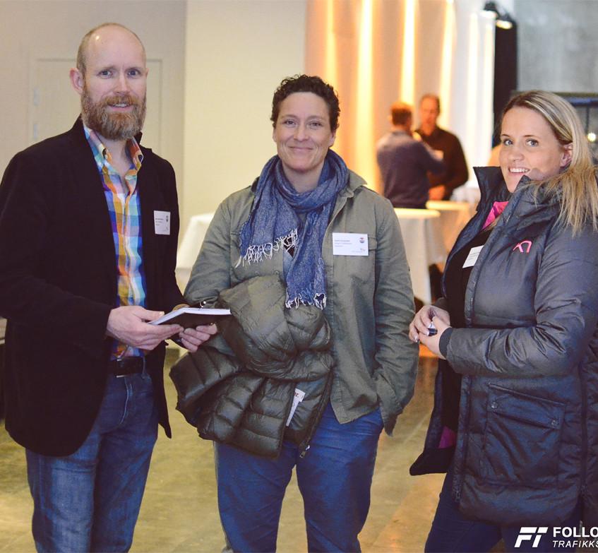 Vår trafikklærer og faglig leder Grim Ketil Nordhus med kollegaer fra Wright Trafikkskole. MA-konferansen Trafikant 3.0