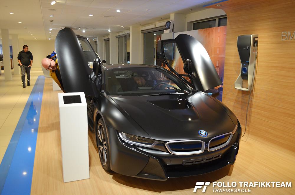 BMW i8 på Bilia Skøyen