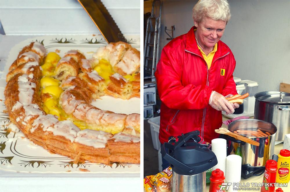 NAF Øvingsbane på Nesodden Åpen dag 2016. Mat og drikke hører med!