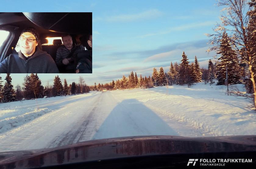 BMW Winter Experience arrangeres på Golsfjellet, i bilen på vei opp gledet vi oss til 24 timer organisert av OnTrack Event og BMW Norge