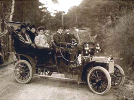 Den første norske kvinnelige bussjåfør