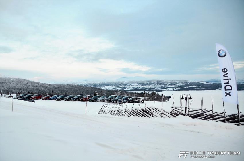 BMW Winter Experience på Gol
