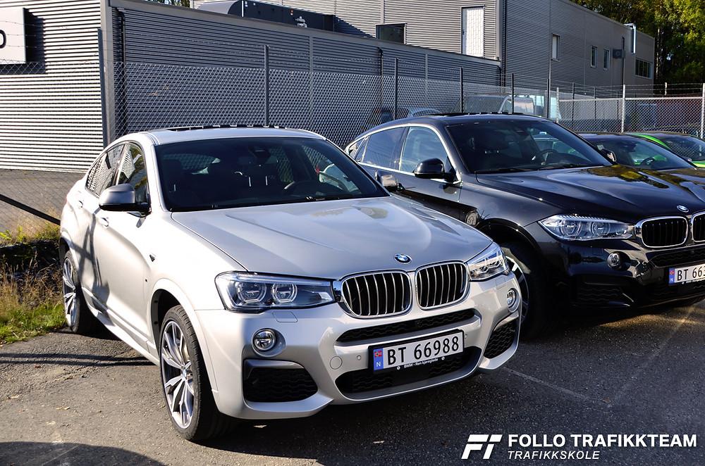 BMW X440M kjøreopplevelser. Trafikkskole Follo Trafikkteam