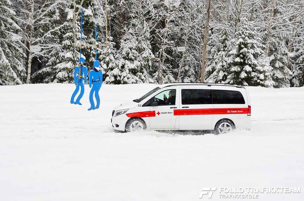 Trafikksikkerhetsdag 2019 på NAF Øvingsbanen Nesodden Ski Røde Kors