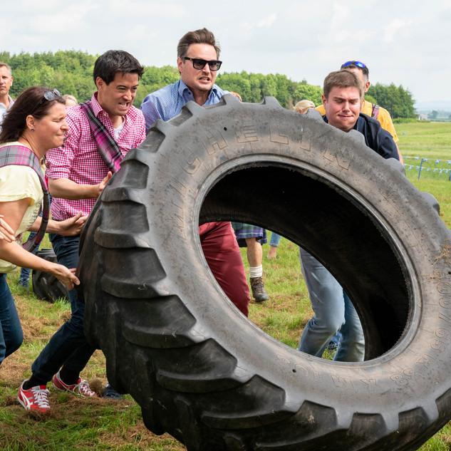 The Tyre Challenge Bluesky Experiences, Methven