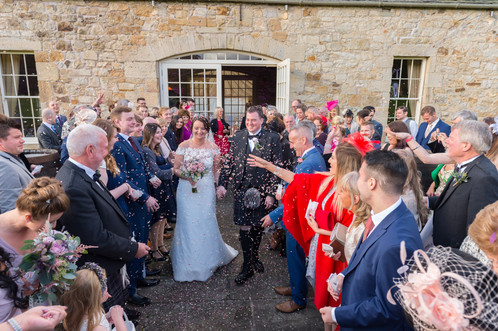 Wedding Photograph Carberry Tower