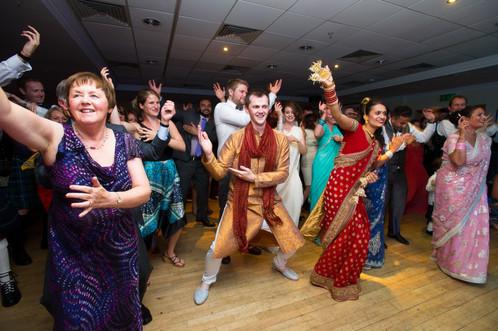 Bangla wedding dancing