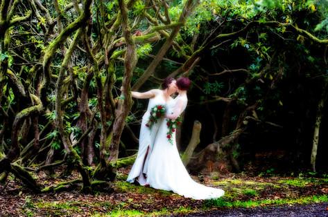 Same sex wedding photography at Dunkeld House