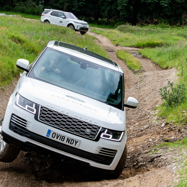 Landrover Experience at theDunkeld House Hotel