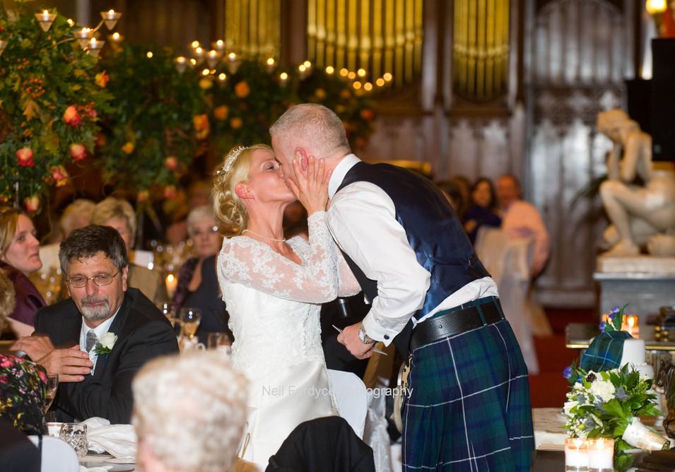 Wedding photography at Scone Palace