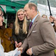 Royal Visit Dunkeld