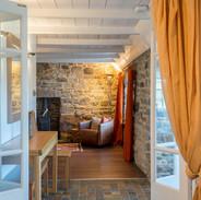 Cottage interior, North Uist