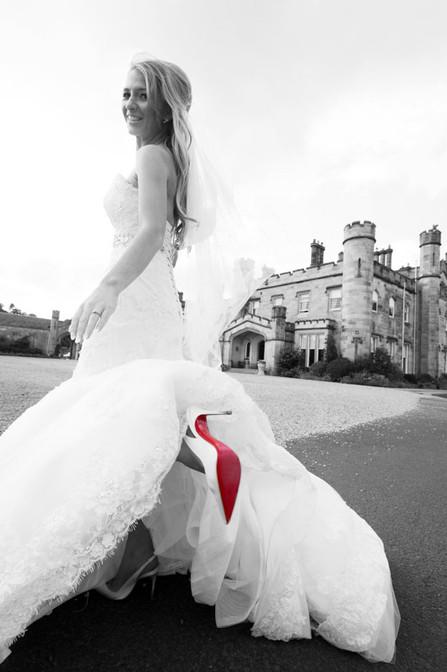 Dundas Castle photograph shoes