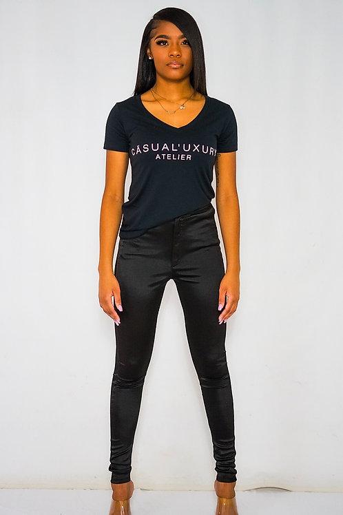 Femme Black Tshirt