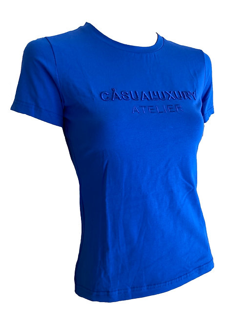 Royal Embroidery T Femme