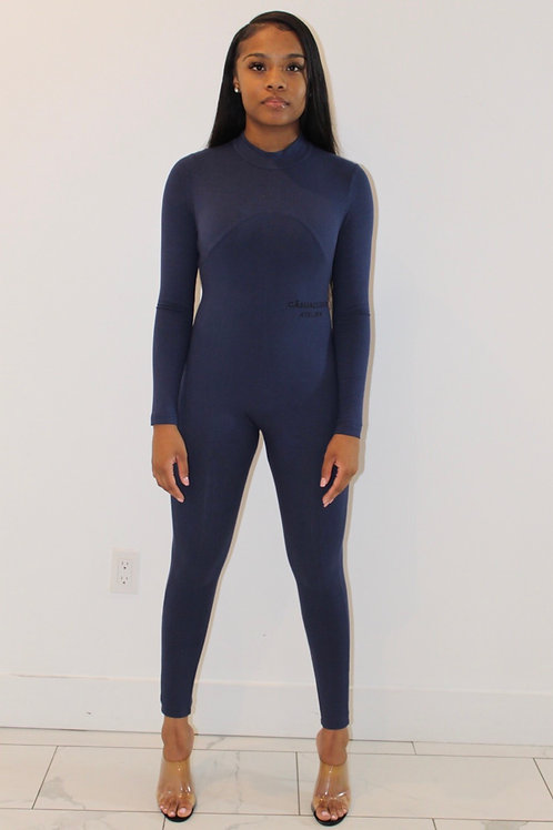 Athleisure Bodysuit Navy