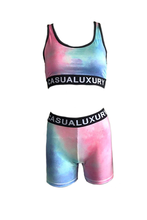 Athleisure Abstract Femme