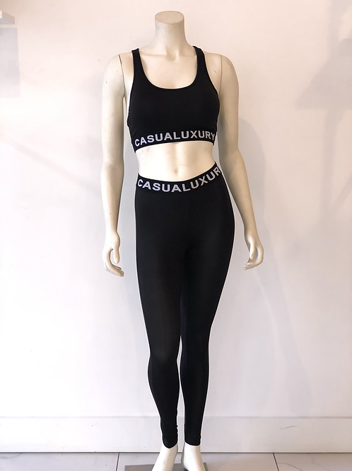 Athleisure Yoga Noire