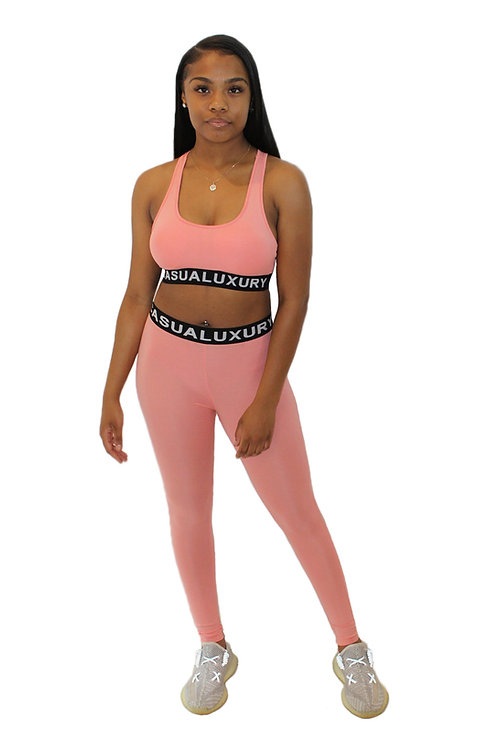Athleisure Yoga Peach