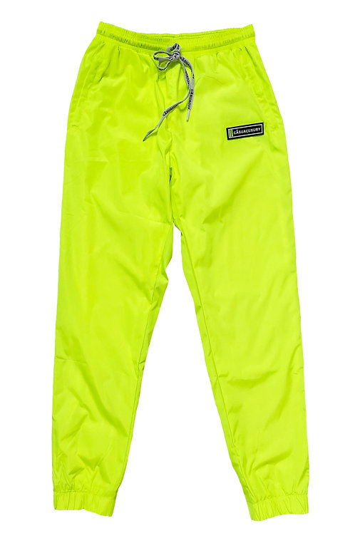 Reflective Track Pant Neon Femme