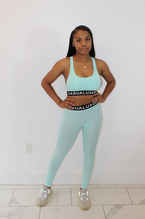 Athleisure Yoga Teal