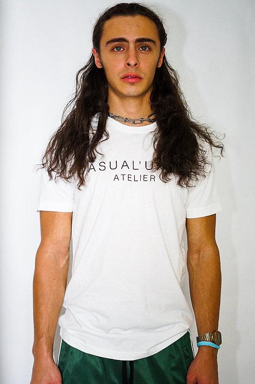 Homme White Tshirt