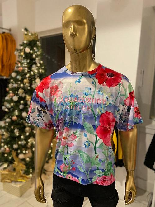 Floral Shirt L
