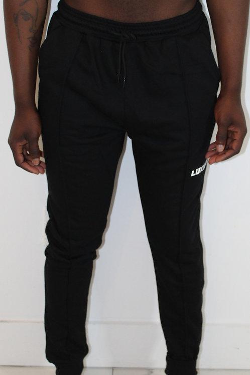 Secret Pocket Jogger Black