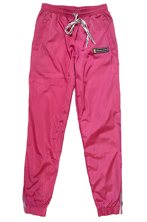 Reflective Track Pant Pink Homme