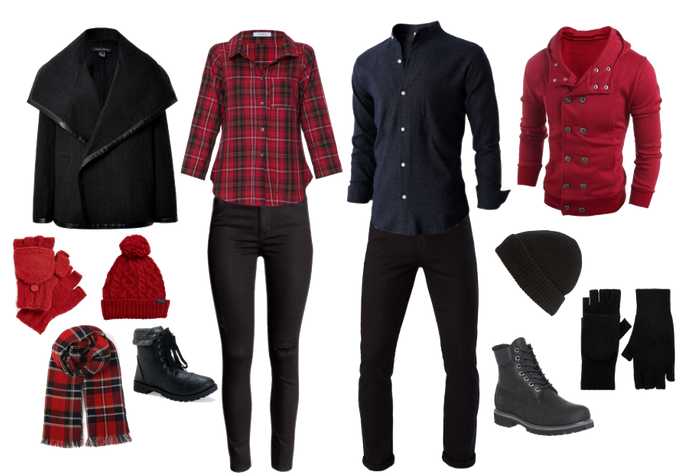 What to Wear? Woodsy Winter Engagement