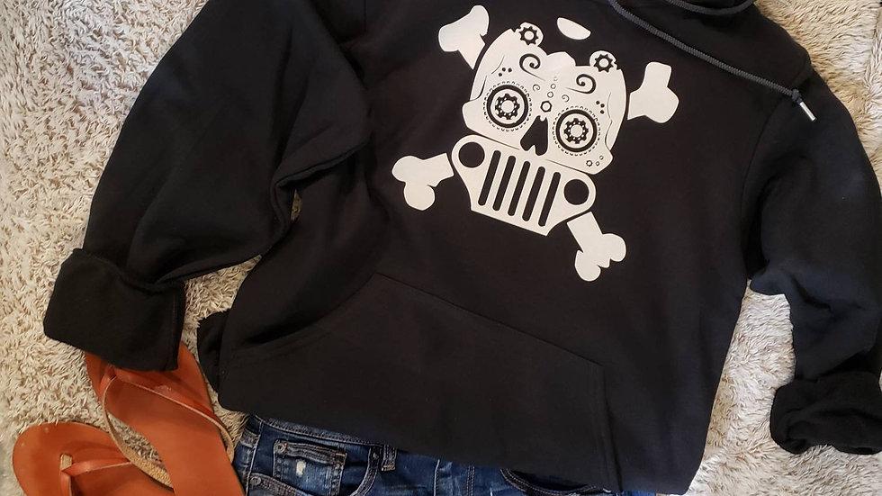 Jeep Sugar Skull Hoodie