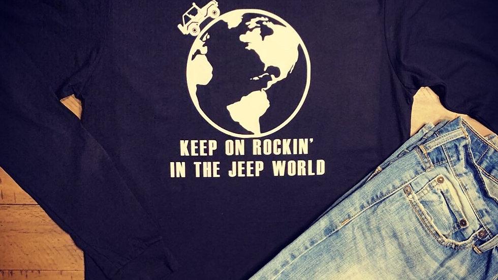 Keep On Rockin' In The Jeep World Shirt