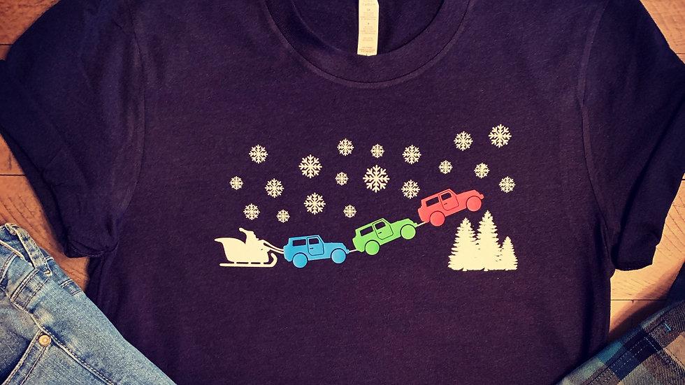 Jeep Sleigh T-Shirt