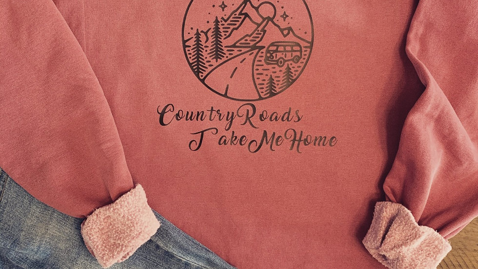 Country Roads Take Me Home Crewneck