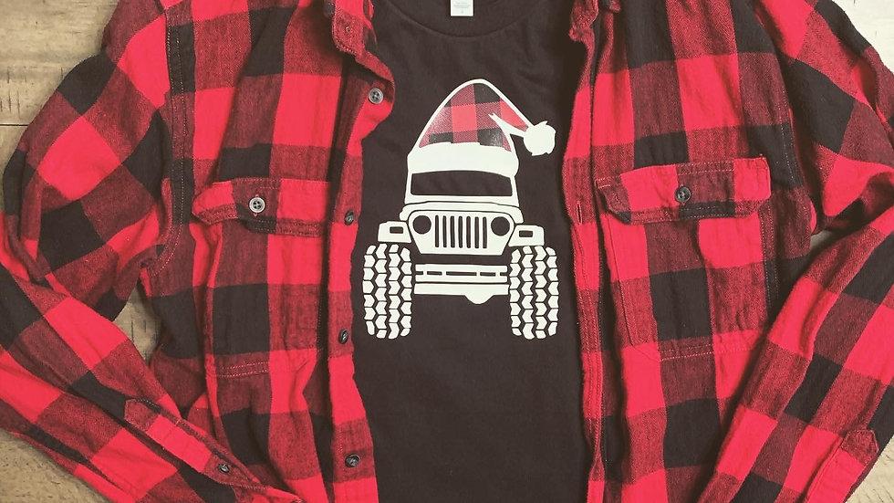 Jeep Santa T-Shirt